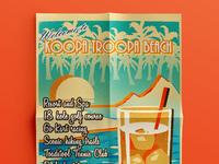Koopa Troopa Beach poster