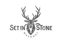 Logo: Set in Stone Masonry