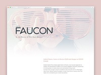 new website - gabrielfaucon.com