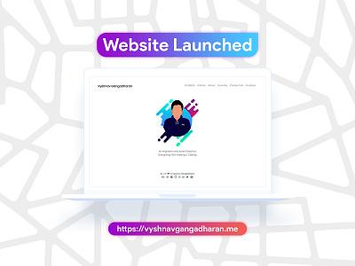 My Portfolio Website Launched graphics designer graphic design coding css3 html5 bootstrap jekyll minimal portfolio website