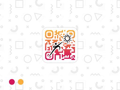 Tathva'19 Official Scanner App minimal event colorful gradient ui graphics designer graphics design graphics designing application app android