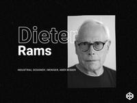 Dieter Rams animation
