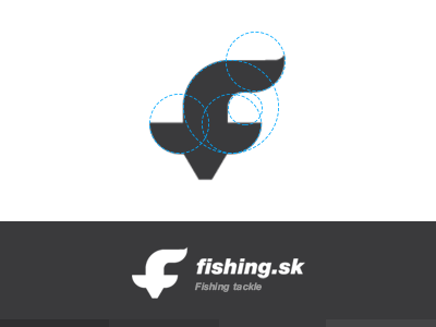 Mark fishing logo clean brand mark logo fish fishing clever smart