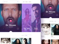 Web for online serials