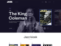 Web site of magazine Jazz