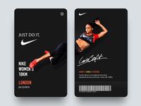 Daily UI #18 - Nike Pass