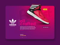 Daily UI #42 - Adidas