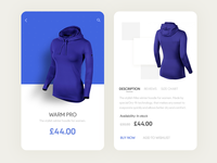 Daily UI #55- Product Page