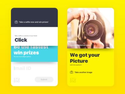 Click!  ux ui picture sketch search selfie interface icon click app advanced
