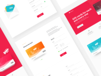 Giftcards Landing Page