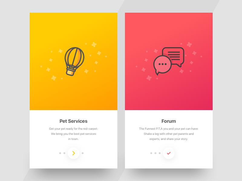 Walkthrough 2.0 ux ui icon app illustration logo design typography vector flat type ios