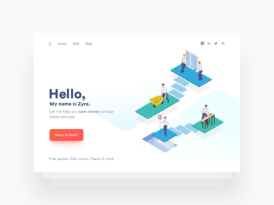 Zy Landing Page