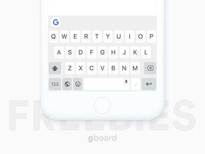 Gboard l Sketch Freebies sketch mockup while google keyboard gboard keyboard free sketch freebies freebies