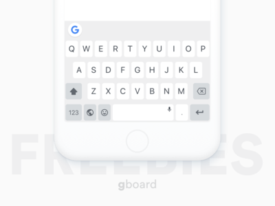 Gboard l Sketch Freebies sketch mockup while google keyboard gboard keyboard free sketch freebies freebies