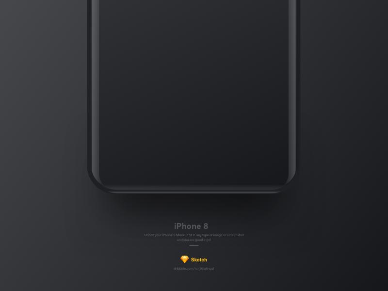 iPhone8 download free freebie freepsd sketch mockup psd iphone8 apple smartphone