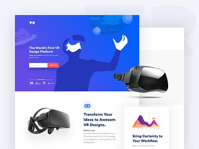 VR Proof of Concept 3d digital graph illustration app web virtual reality vr poc