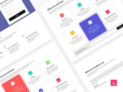 Designshift web responsive page mobile layout studio invisionstudio designshift website