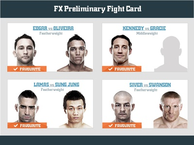 CageRank UFC162 Fight Card