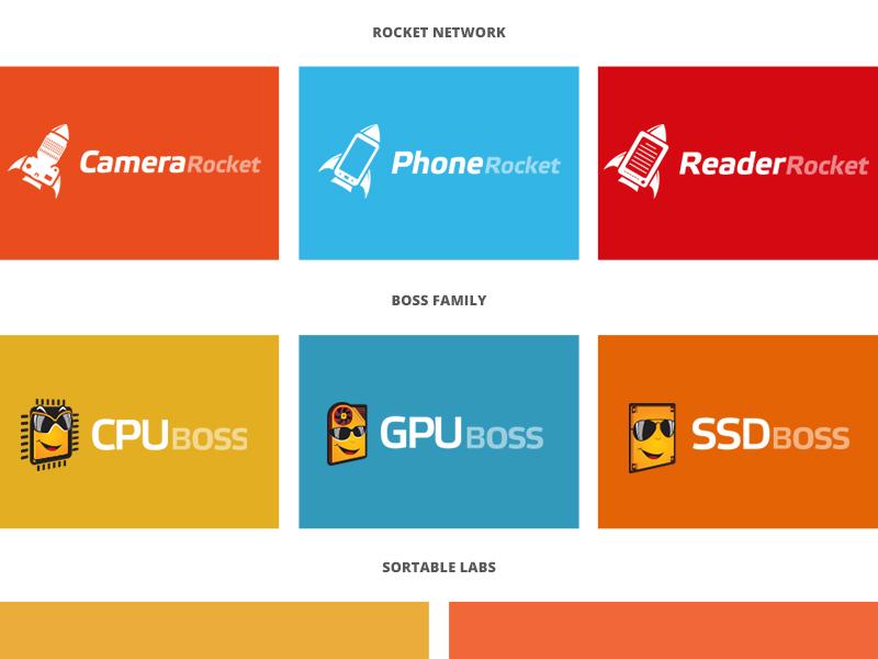 Project Grid grid projects colours boxes logo sortable portfolio
