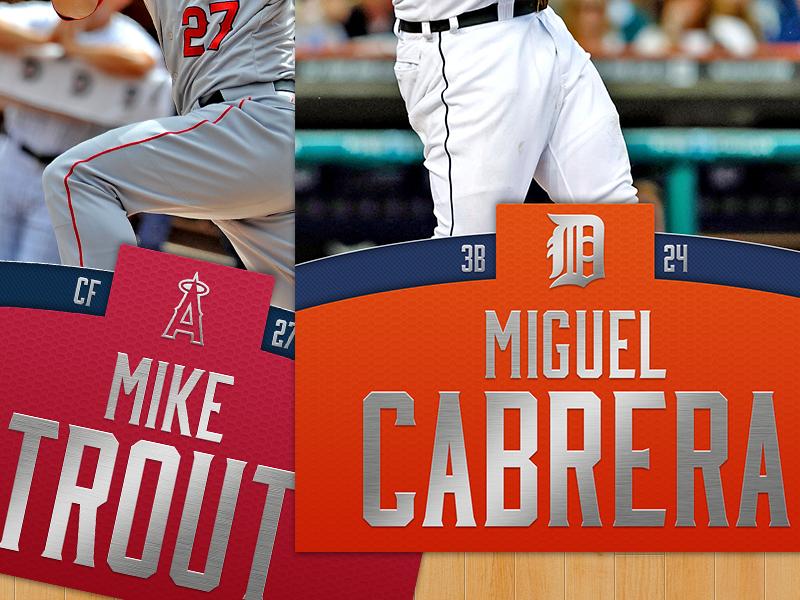 Baseball Cards cards typography gradient wood print baseball sports