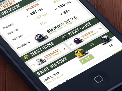 IronRank Compare Mobile ui mobile compare football helmets
