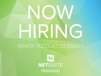 Hiring Senior Product Designer