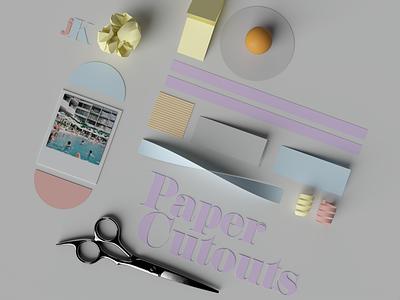 Paper Cutouts paper art papercraft design art paper design