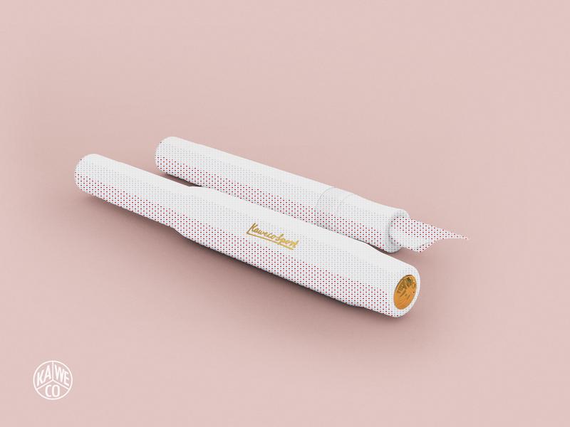 Kaweco Sport Pen 3D Render 3d art cinema4d c4d render fountain pen 3d