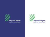 Beyond Paper Branding Identity