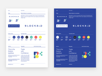 Brand guideline posters