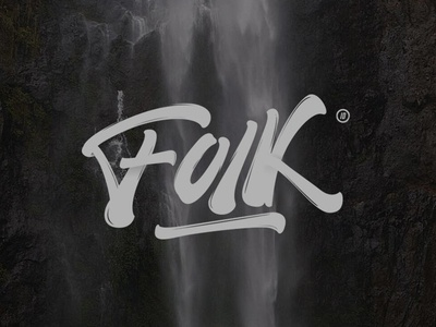Folk with Lettering