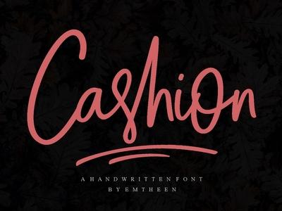 Cashion Script Font