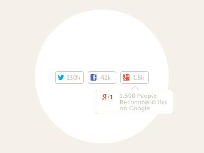 Social Following Buttons social twitter facebook google gplus g like follow buttons freebie free psd