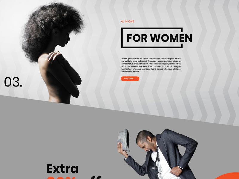 Orange Graphics Free PSD Responsive Website Design