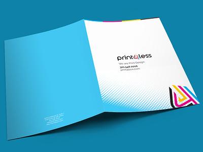 Folder Design cmyk printing print graphic design graphics folder design folder