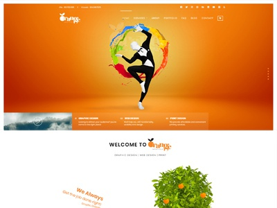 Our New Website Interface interface design website websitedesign web design graphicdesigner graphicdesign graphics orngegraphics theorangegraphic