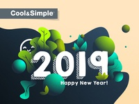 Happy New Year 2019 Cool&Simple Montreal