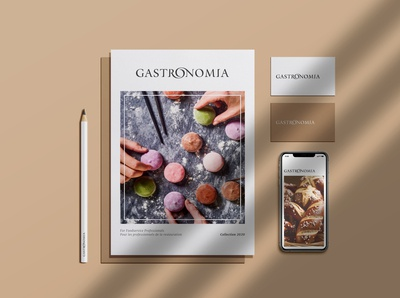 Catalogue 2020 (cover) - Gastronomia