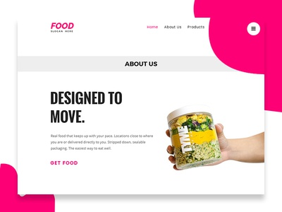 Food Company Website