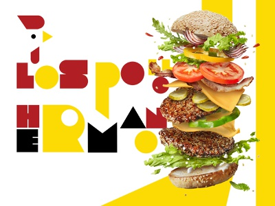 LOS POLLOS MOCKUP catalog icon logo advertising illustrator branding design typography editing photoshop restaurant