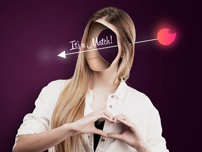 Tinder photography tinder love photomanipulation advertising editing photoshop