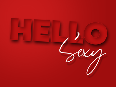 Editable text effect embossed web editing photoshop template sexy red typography custom editable type typography art embossed