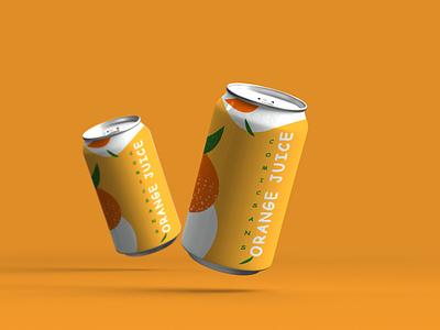 COMIC SANS ORANGE JUICE CAN comic sans typography brand packaging orange juice orange can orangejuice advertising design photoshop brand identity branding