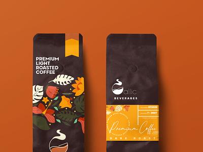 COFFEE LABELS illustration vector illustrator advertising design branding typography editing photoshop coffee shop coffee