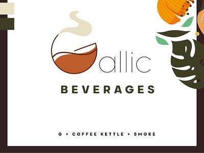 Coffee Company Logo coffee bean illustration vector illustrator advertising design branding typography editing flowers coffeeshop photoshop coffee