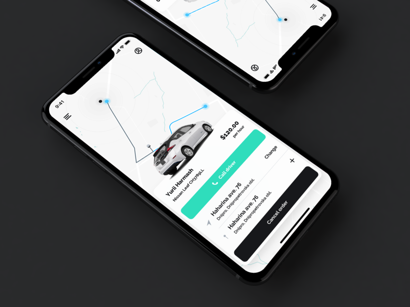 taxi app vector uber design driver taxi driver white application taxi app uber taxi ios light app simple design interface ux ui