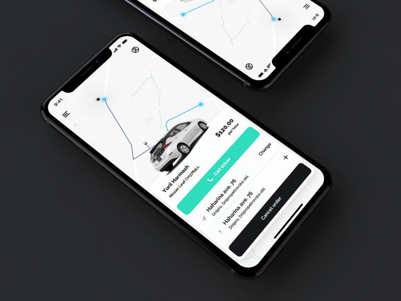 taxi app vector uber design driver taxi driver white application taxi app uber taxi ios light app simple design interface ux ui