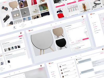 progressive future vector sketch experience design dribbble invite interface ux ui branding pink tinder light web e-commerce sell pwa
