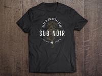 Sub Noir Design on Shirt