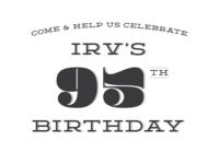 Grandpa's Birthday Invitation